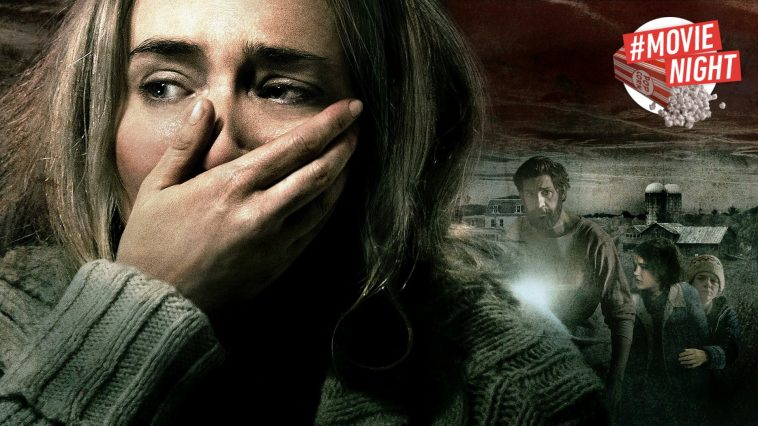 Emily Blunt nel banner di A Quiet Place