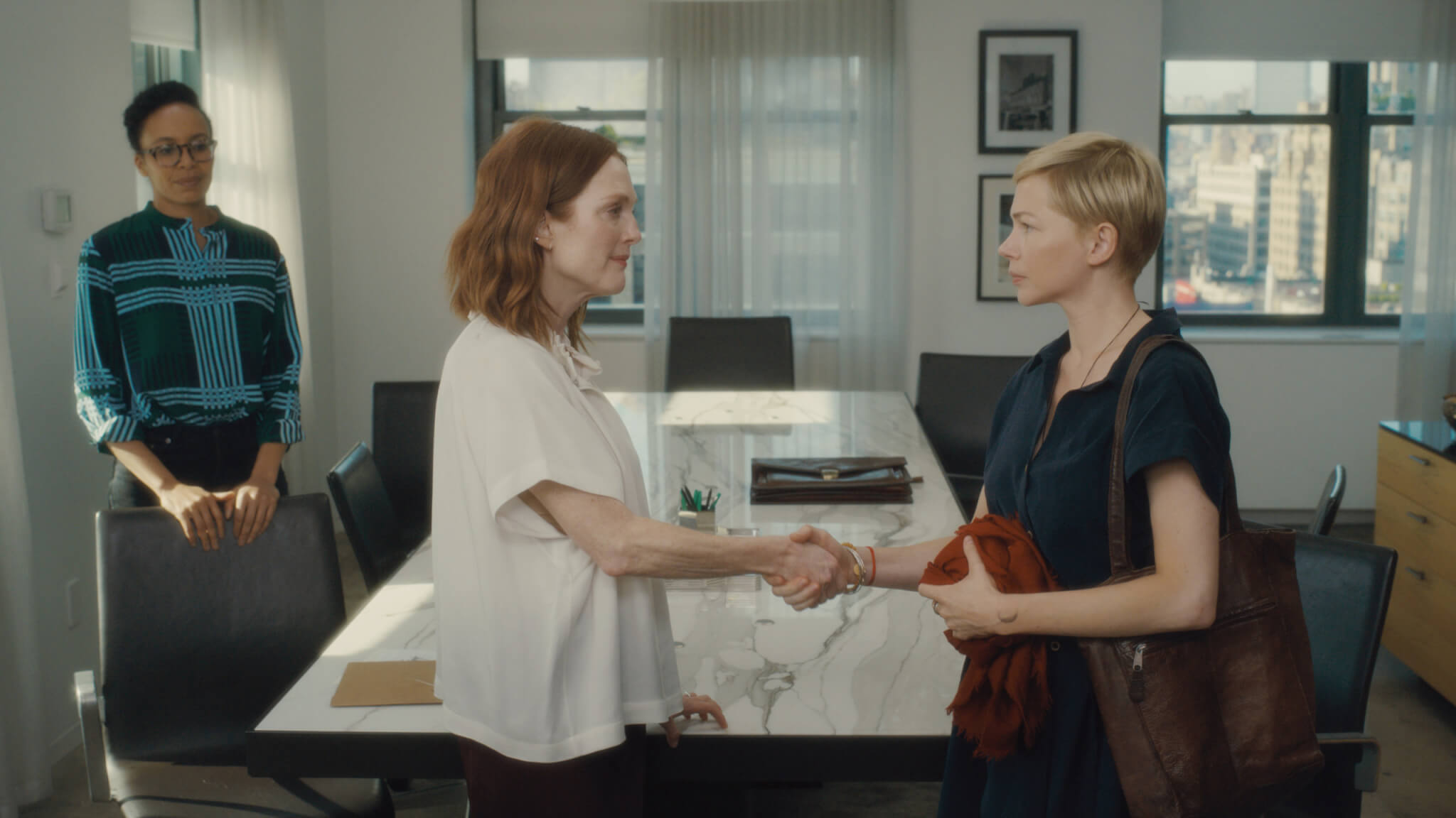 Julianne Moore e Michelle Williams in Dopo il Matrimonio