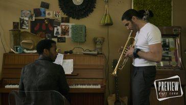 André Holland e Tahar Rahim in una scena di The Eddy