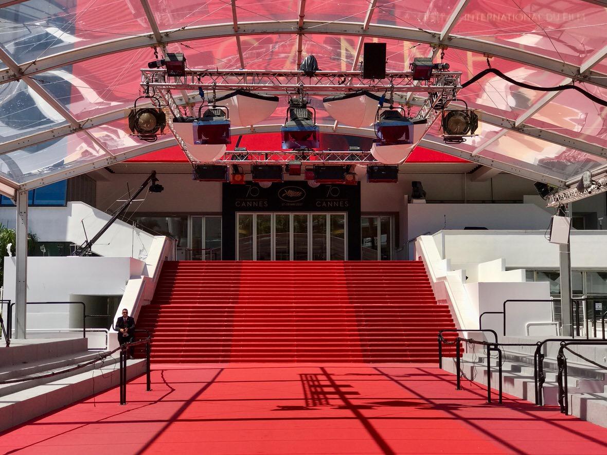Sul red carpet di Cannes