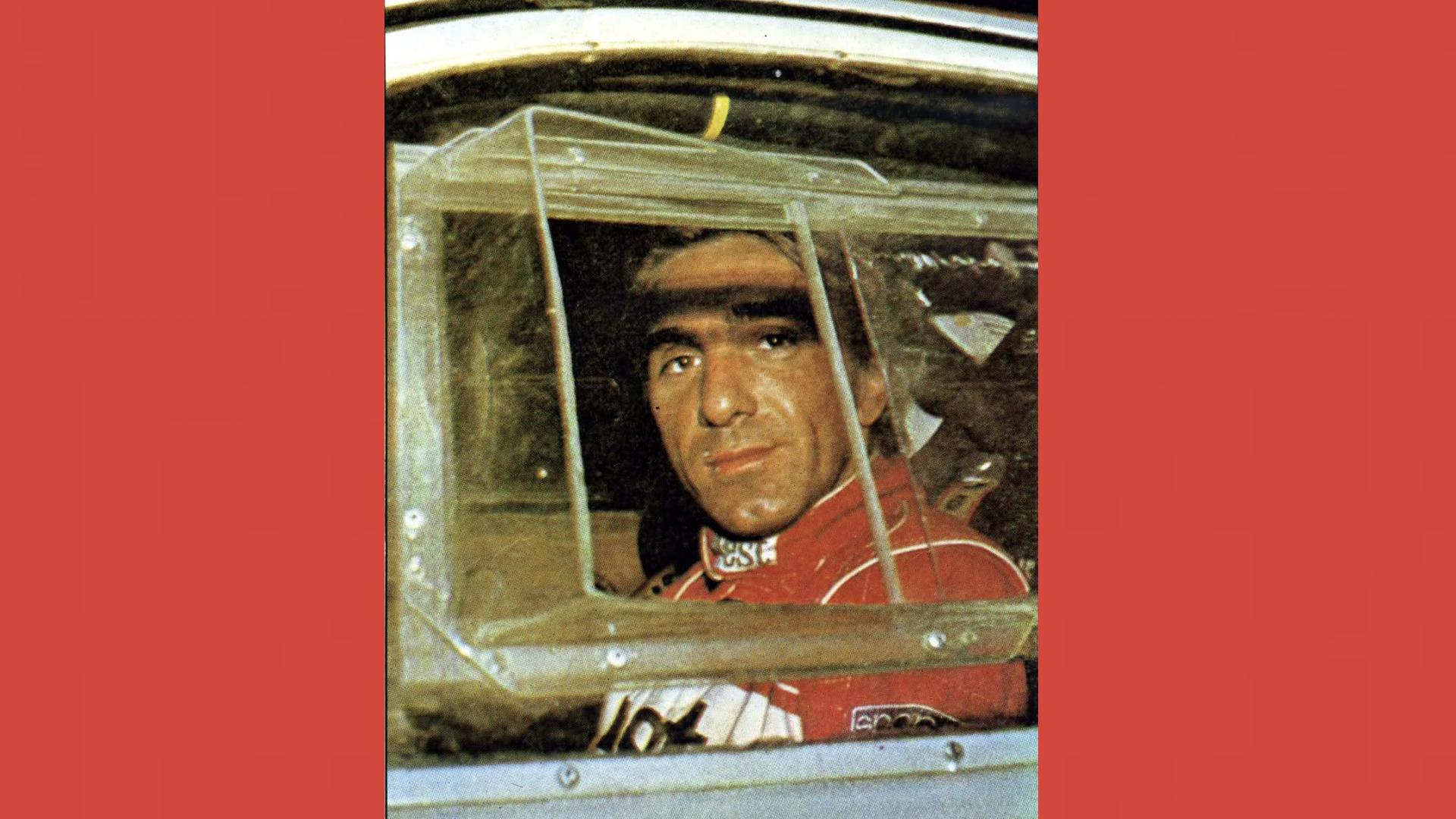Carlo Capone, in una delle rare foto