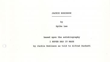 Jackie Robinson secondo Spike Lee