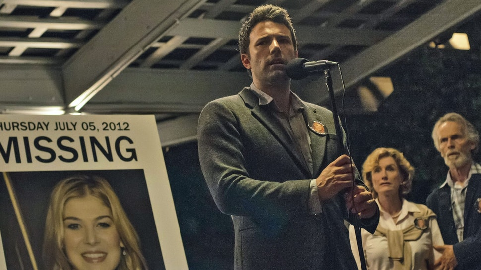 Ben Affleck è Nick Dunne in Gone Girl