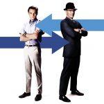 Leo DiCaprio e Tom Hanks in Prova a Prendermi