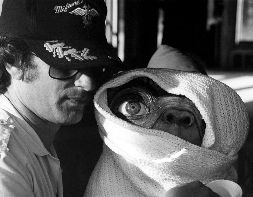 Steven Spielberg e il piccolo E.T.