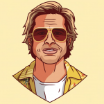 Brad Pitt è Cliff Booth secondo Ben Douglass