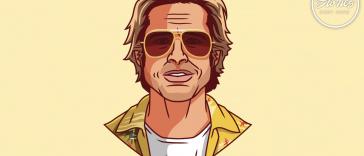 Brad Pitt è Cliff Booth secondo Ben Douglass