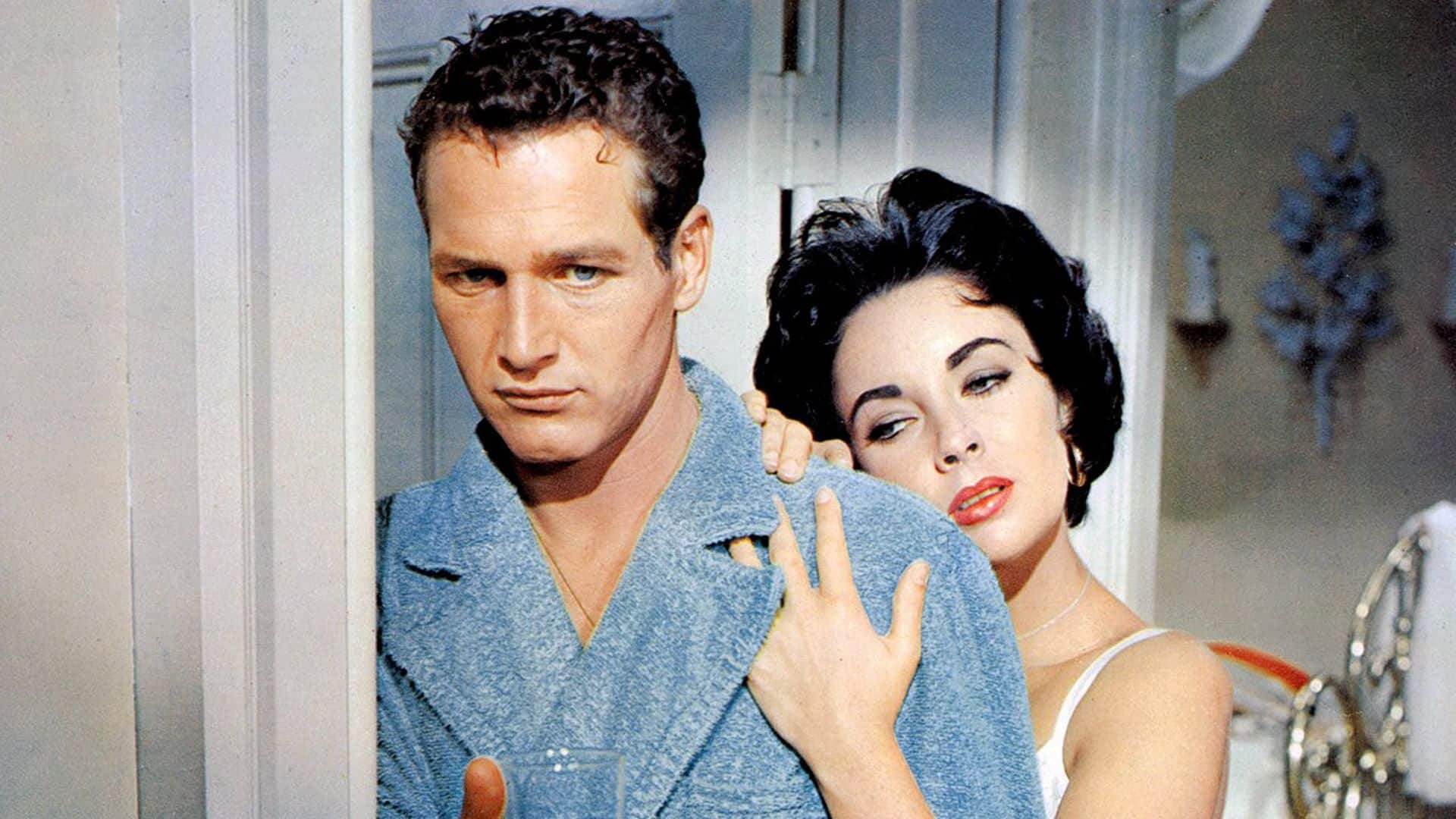 Paul Newman e Elizabeth Taylor ne La Gatta sul Tetto che Scotta