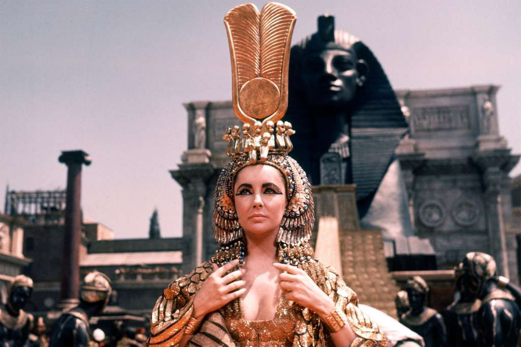 Liz Taylor è Cleopatra