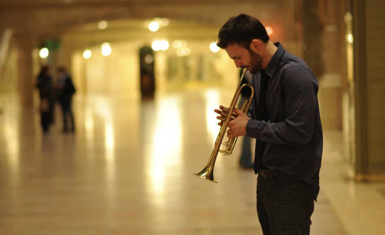 Chris Evans e la Grand Central Station