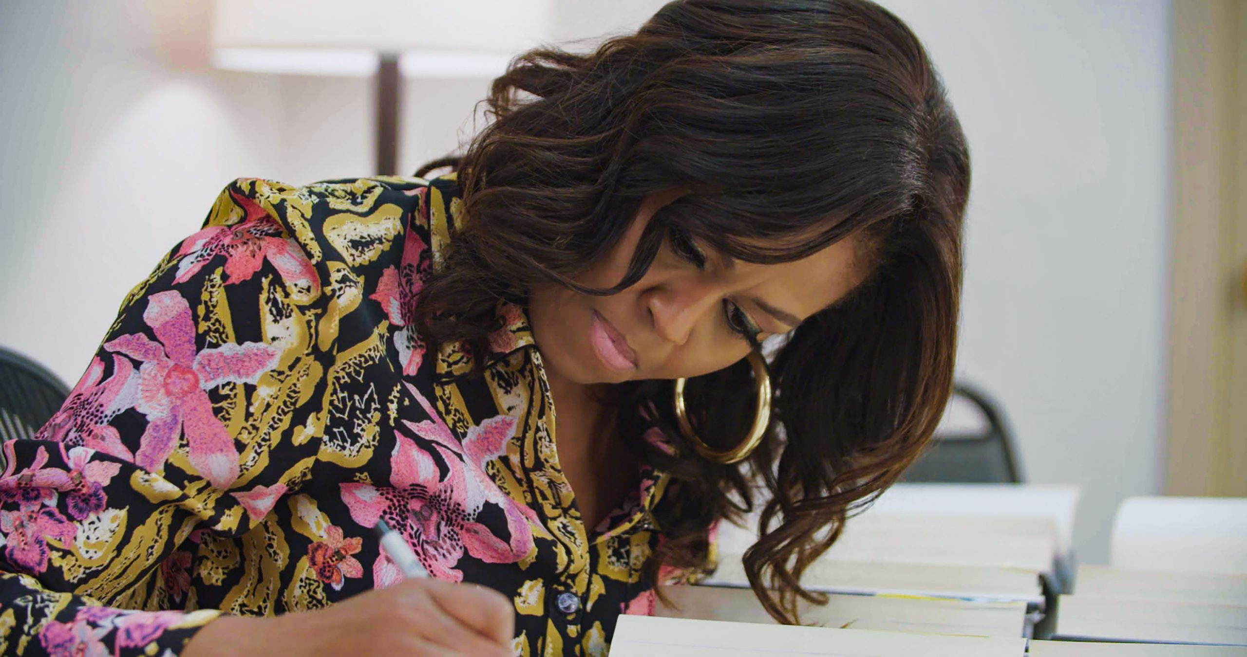 Michelle Obama e gli autografi