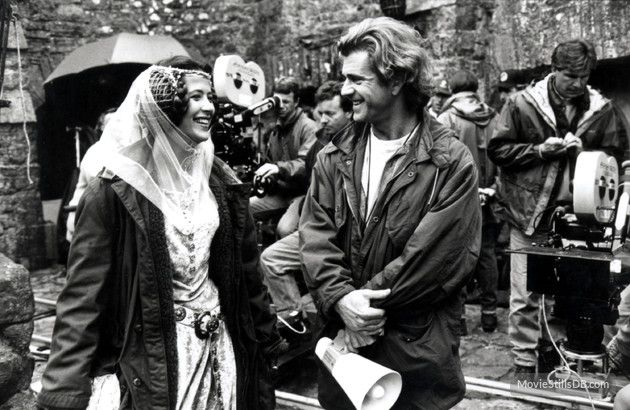 Sophie Marceau con Mel Gibson