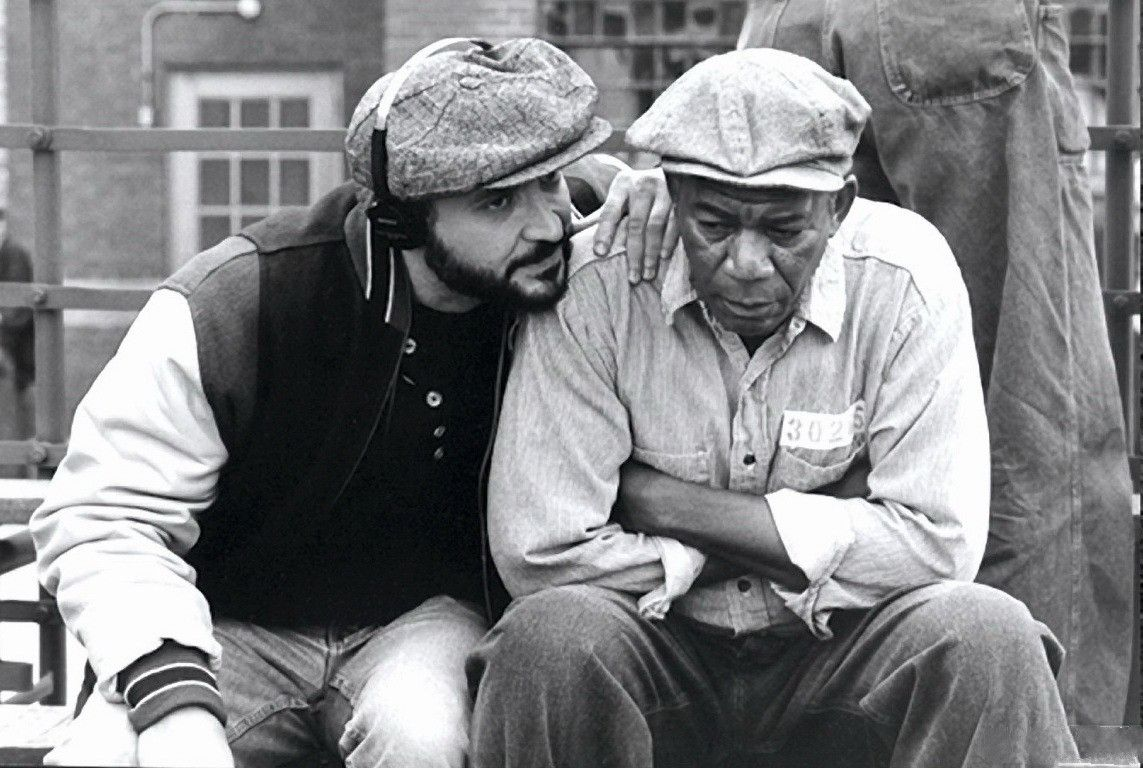 Frank Darabont e Morgan Freeman