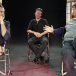 Il Regno: Max Tortora, il regista Francesco Fanuele e Stefano Fresi