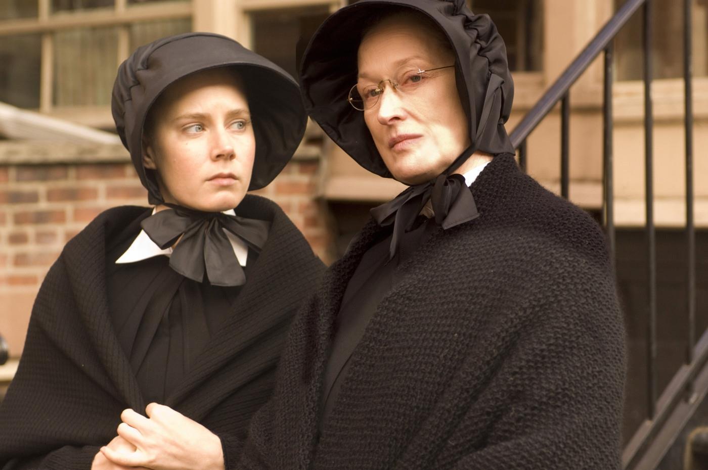 Amy Adam e Meryl Streep ne Il Dubbio