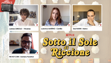 Lorenzo Zurzolo, Ludovica Martino e Saul Nanni intervistati da Hot corn