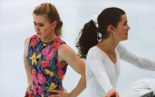Tonya Harding e Nancy Kerrigan