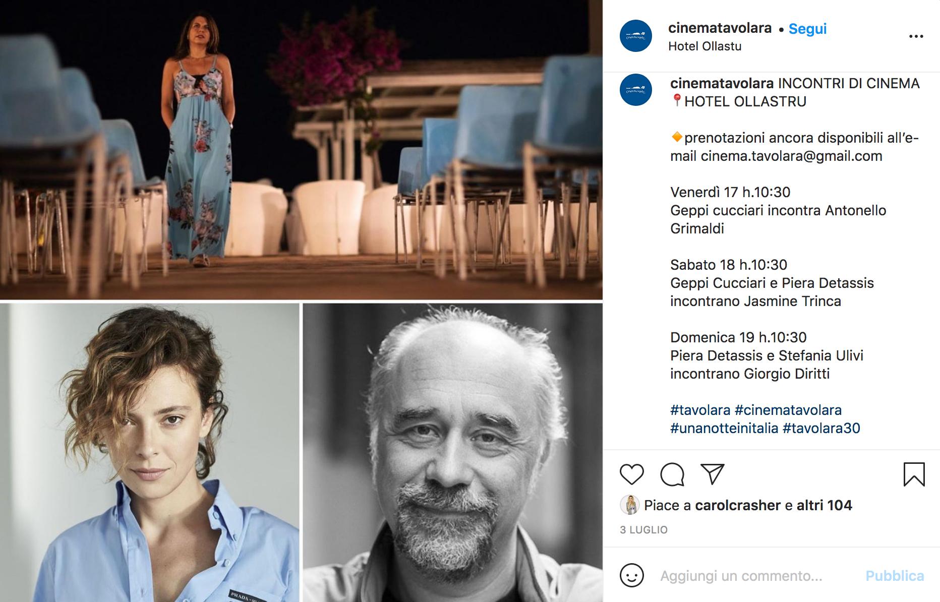 I talk al Festival di Tavolara 2020