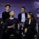 I doppiatori di Onward: Raul Cremona, Favij, Fabio Volo, Sabrina Ferilli e David Parenzo