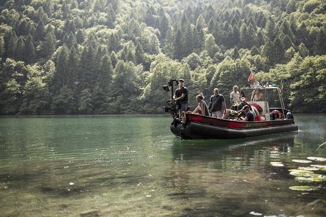 Il Lago di Levico in Trentino, una delle location di The Boof of Vision