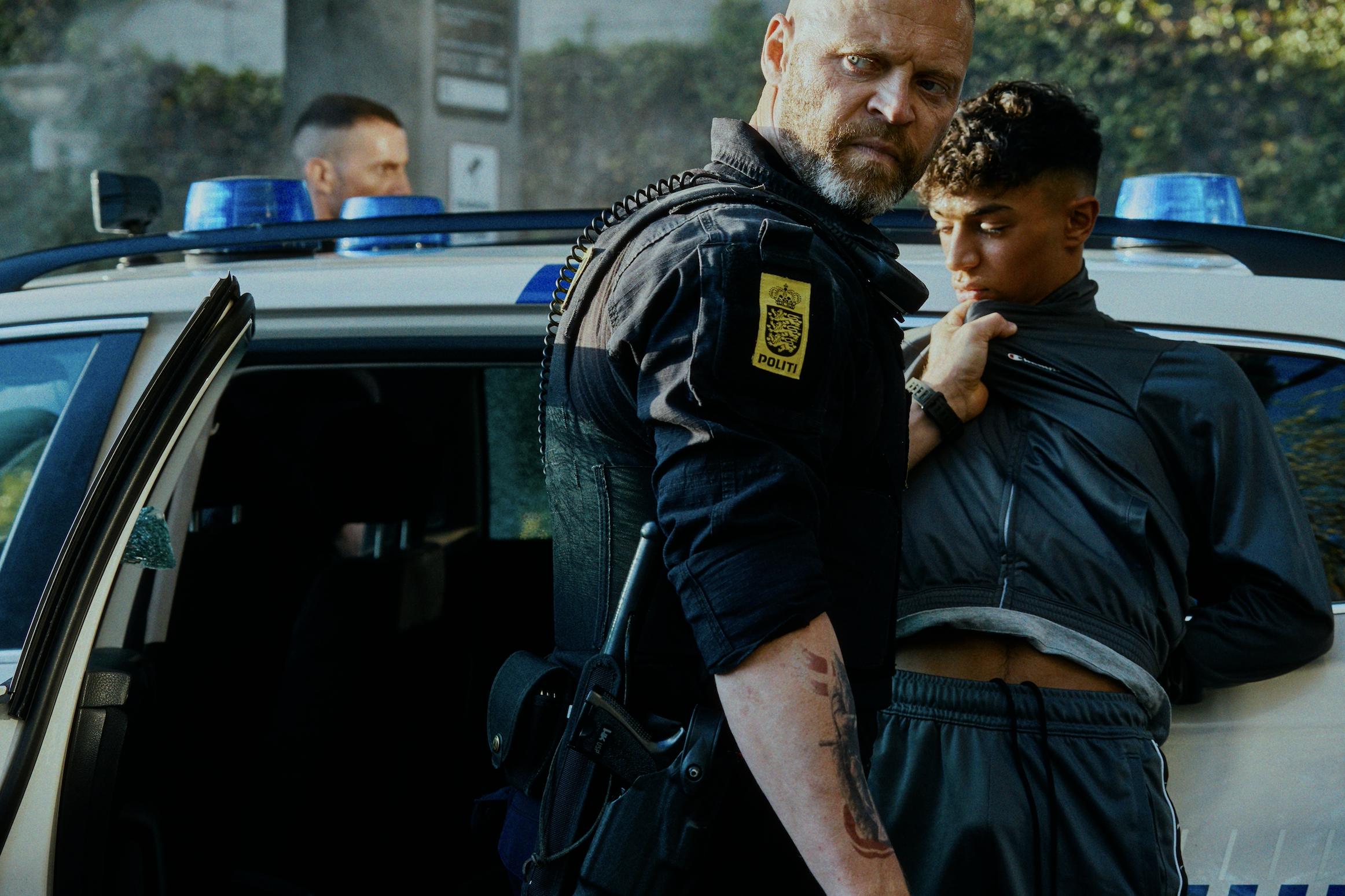 Una scena di Enforcement