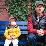 James Norton e il piccolo Daniel Lamont