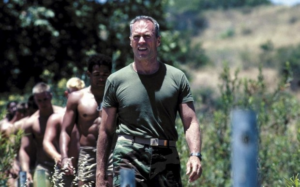 Clint Eastwood in Gunny
