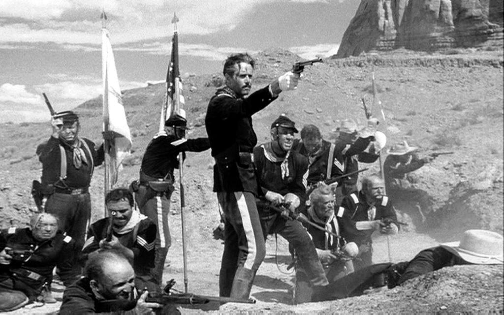 Il Massacro di Fort Apache, una scena
