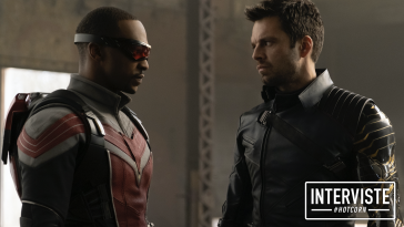 Falcon/Sam Wilson (Anthony Mackie) e Winter Soldier/Bucky Barnes (Sebastian Stan)