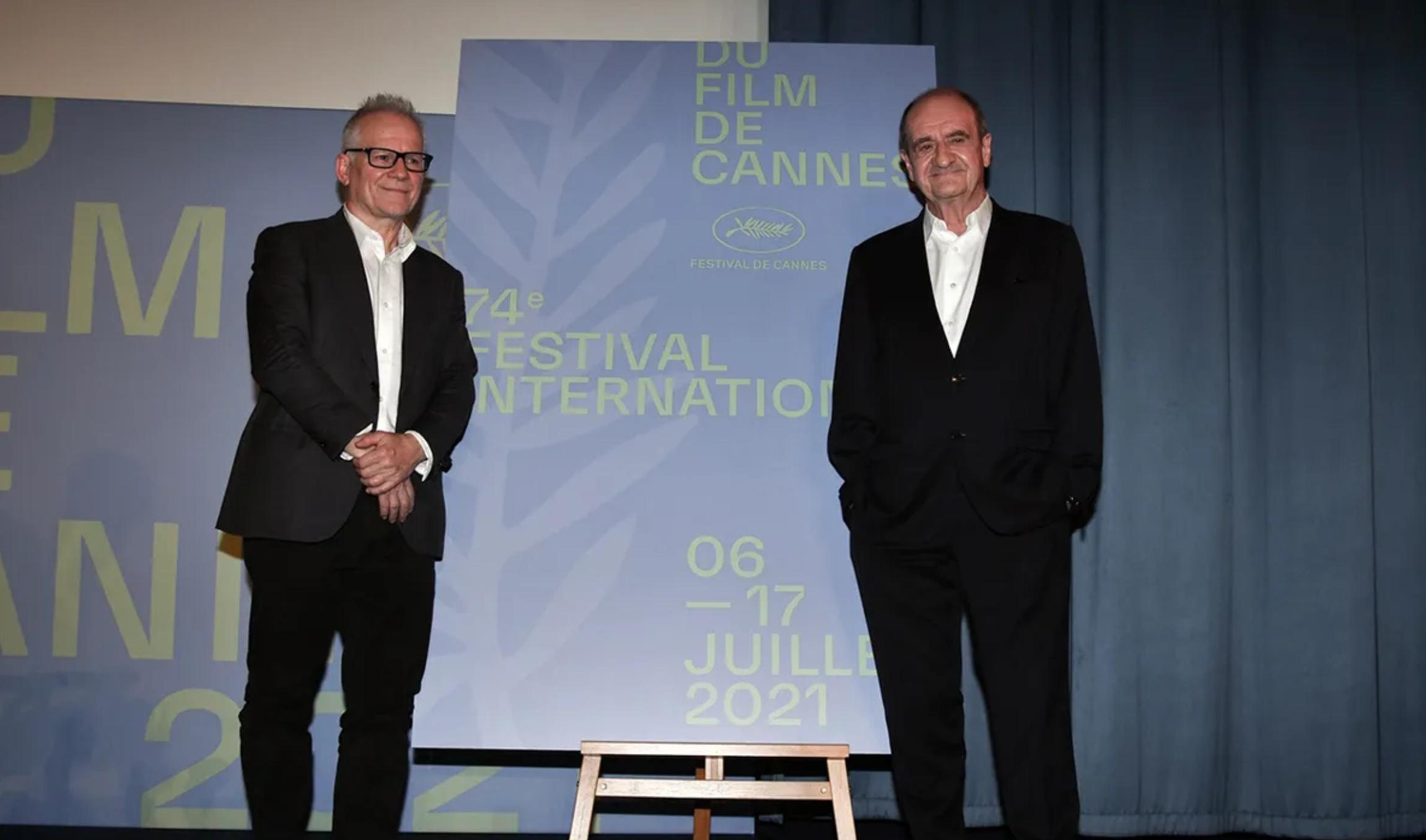 Pierre Lescure e Thierry Frémaux. Image Credit: Serge Arnal