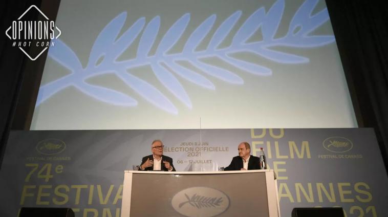 Pierre Lescure e Thierry Frémaux annunciano la selezione di Cannes 2021. Image Credit: Serge Arnal