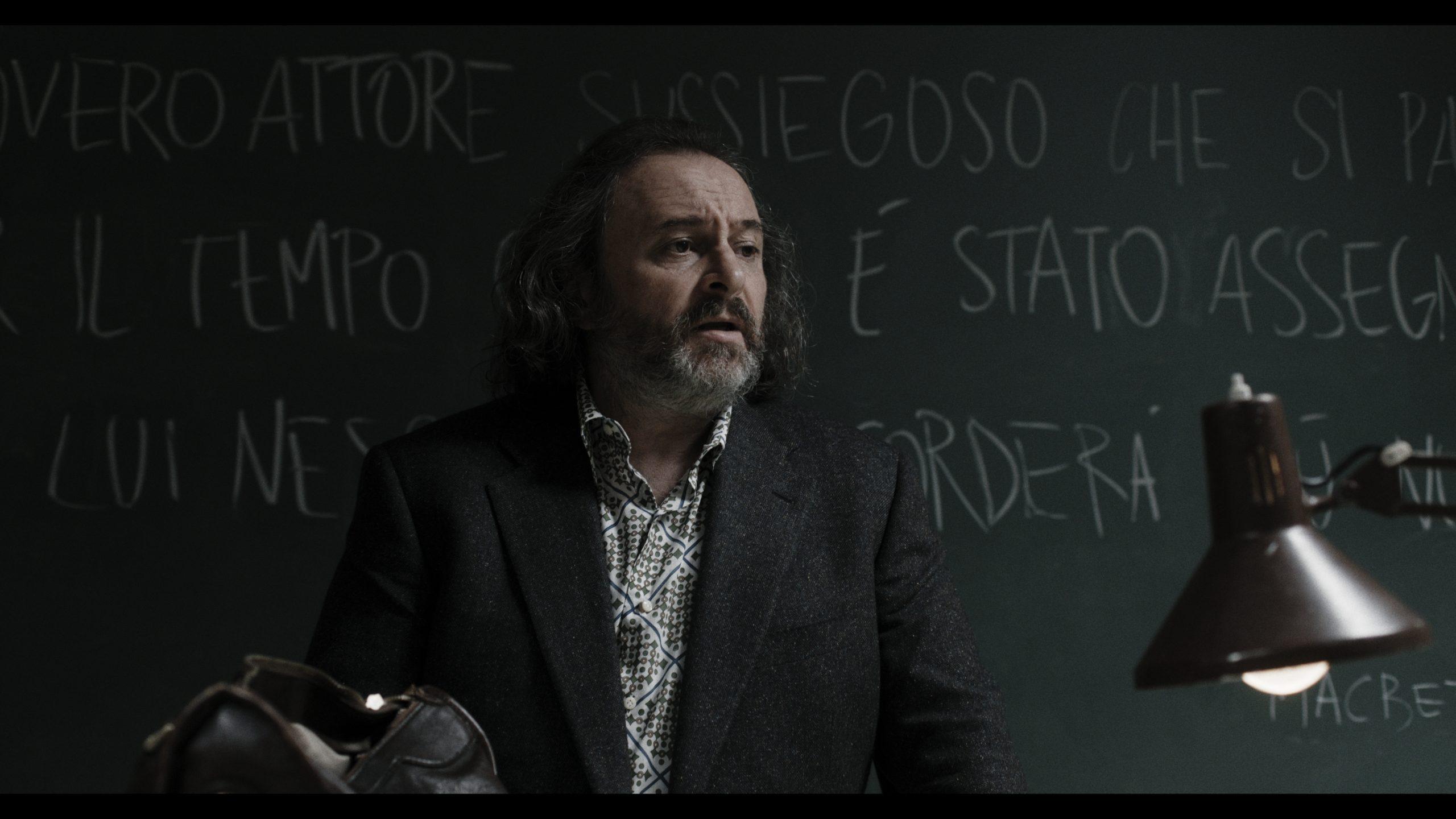Il prof di Comedians, Natalino Balasso