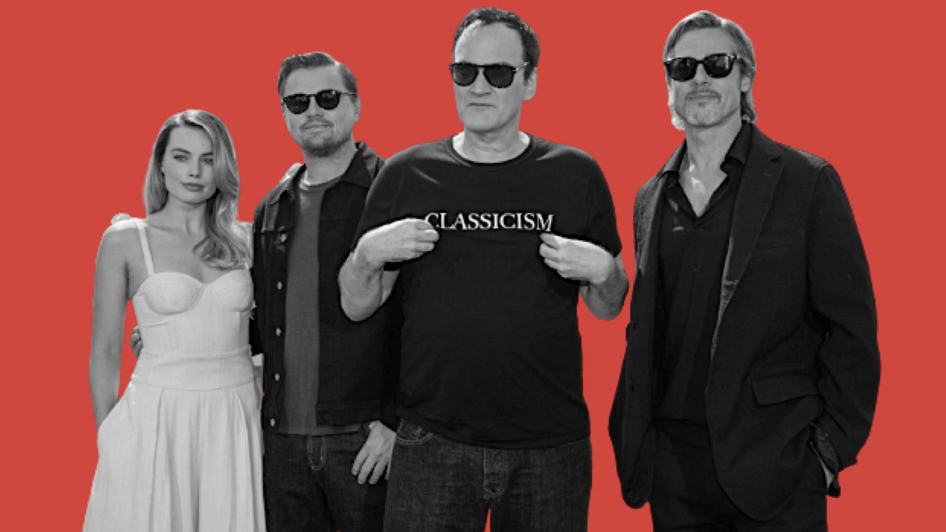 Margot Robbie, Leo DiCaprio, Tarantino e Brad Pitt a Cannes, per la première di C'era una volta a... Hollywood