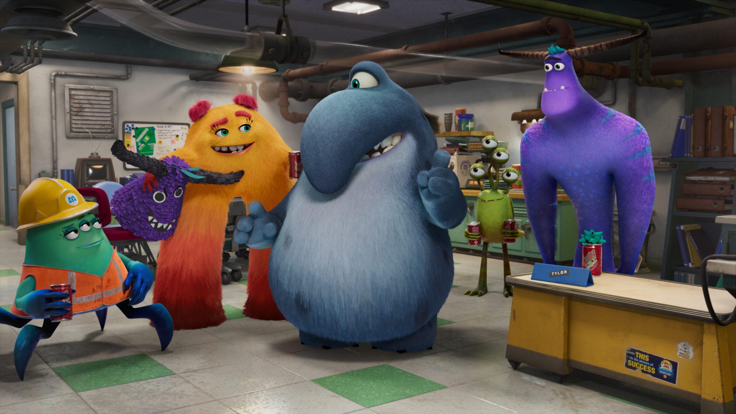 I nuovi personaggi dell'universo Monsters & Co. Semplicemente esilaranti!