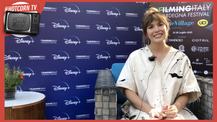 Elizabeth Olsen intervistata da Hot Corn al Filming Italy Sardegna Festival 2021