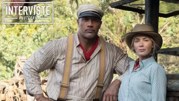 Dwayne Johnson ed Emily Blunt in Jungle Cruise