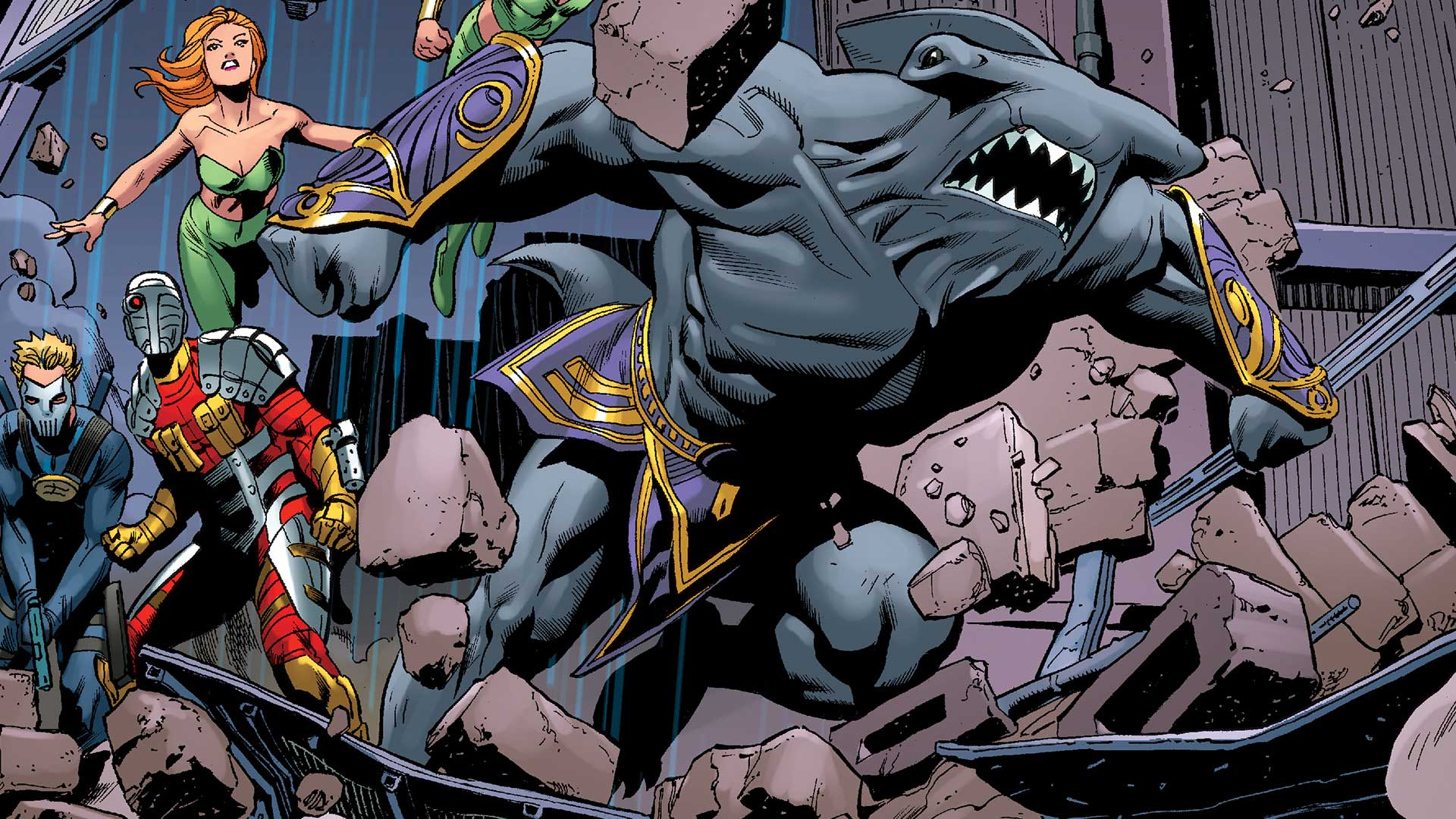 King Shark nella versione a fumetti