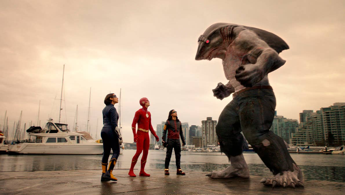 Nanaue in The Flash
