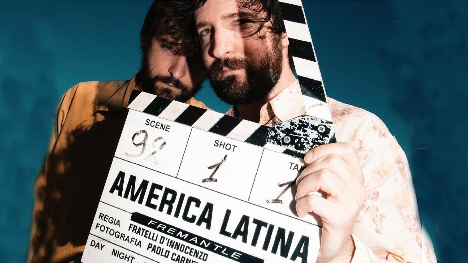 I Fratelli D'Innocenzo e il ciak di America Latina