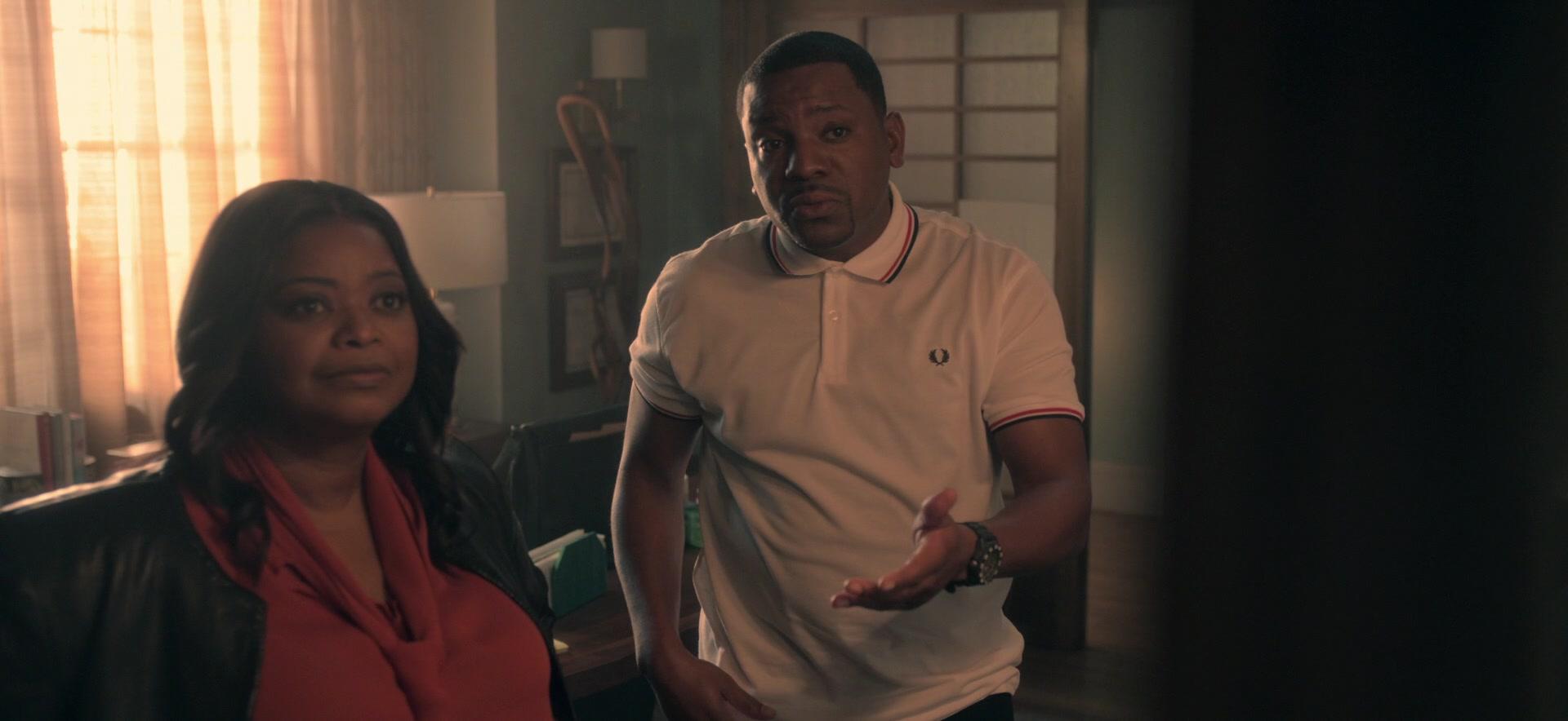 Octavia Spencer e Mekhi Phifer nella prima stagione della serie