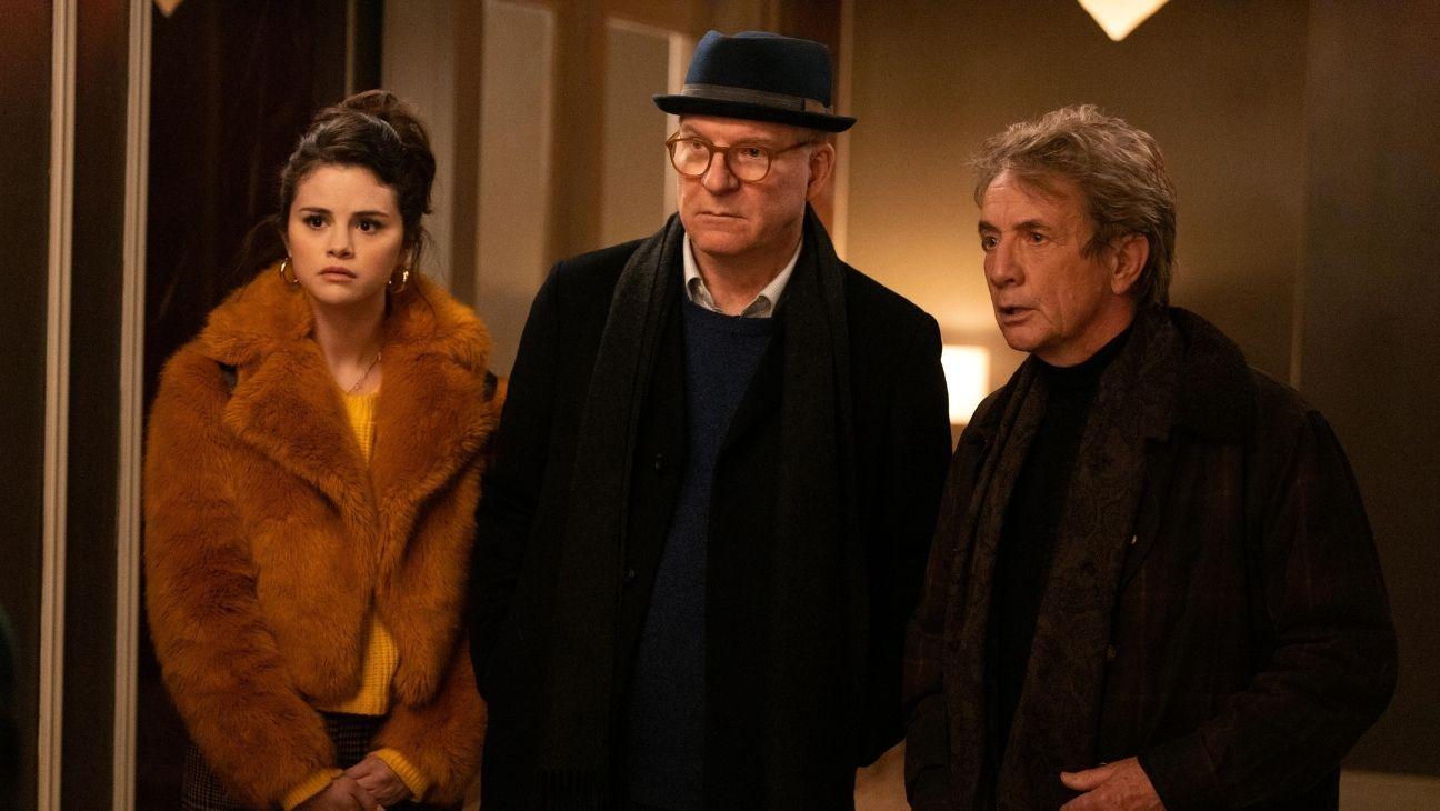 Selena Gomez, Steve Martin e Martin Short in Only Murders in the Building
