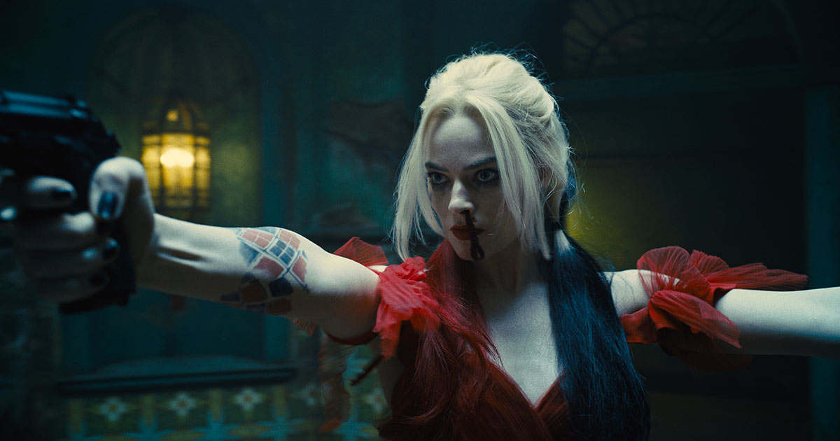 Margot Robbie è Harley Quinn in The Suicide Squad