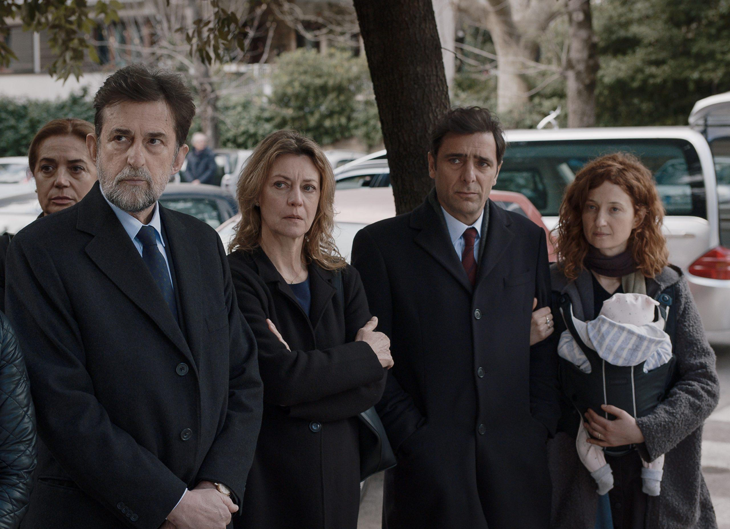 Nanni Moretti, Margherita Buy, Adirano Giannini, Alba Rohrwacher in Tre Piani