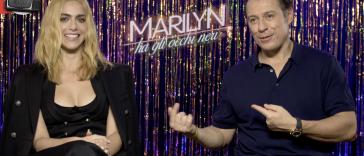 Miriam Leone e Stefano Accorsi raccontano Marilyn ha gli Occhi Neri