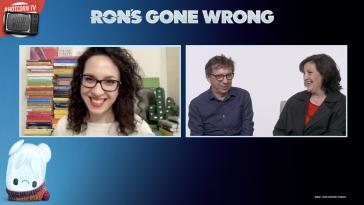 Sarah Smith e Peter Baynham raccontano Ron – Un amico fuori programma