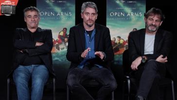 Eduard Fernandez, Marcel Barrena, Oscar Camps raccontano Open Arms - La Legge del Mare