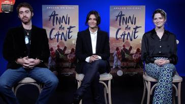 Aurora Giovinazzo, Isabella Mottinelli e Luca Maria Vannuccini raccontano Anni da Cane