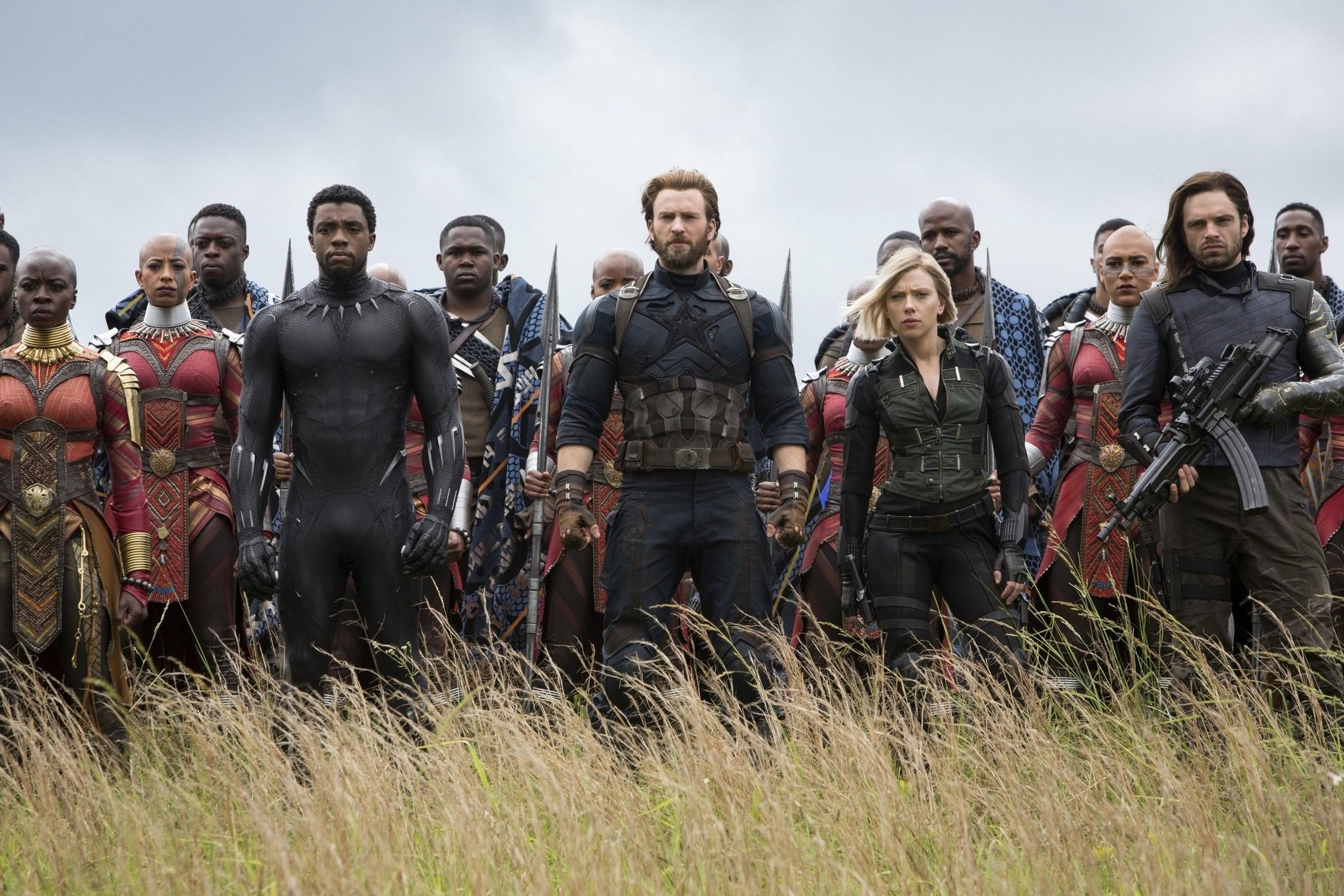 Captain America (Infinity War) | MCU Minecraft Skin