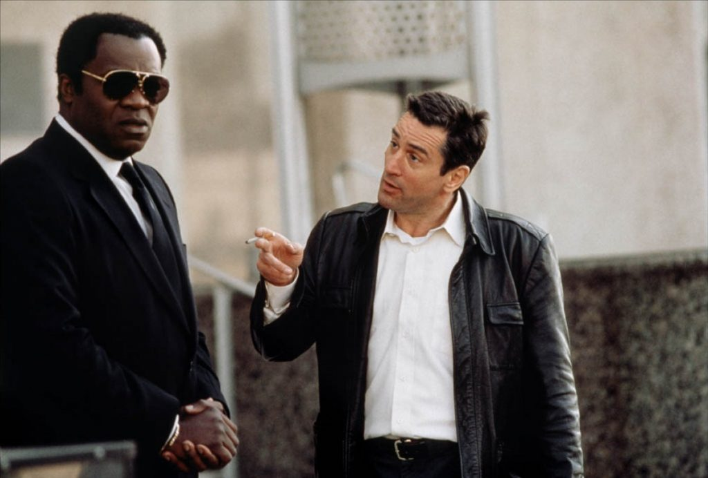 De Niro with Yaphet Kotto. Midnight Run was released on 20 July, 1988