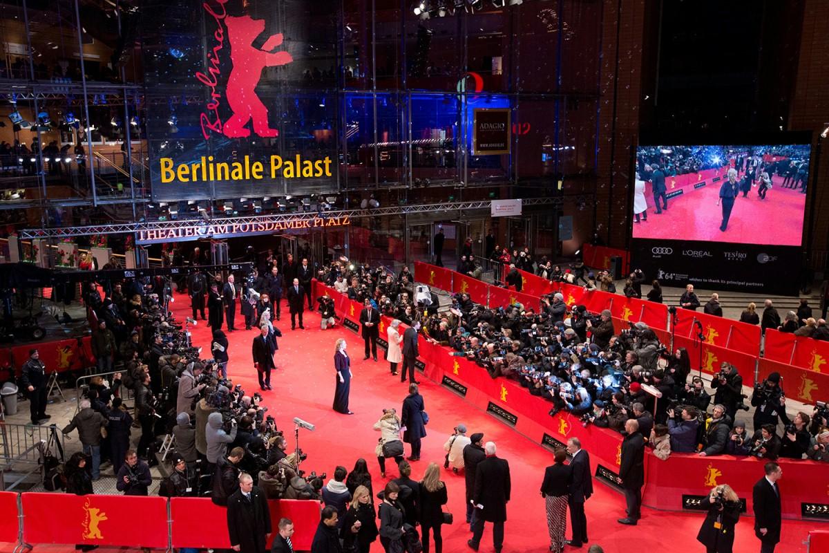 Berlin International Film Festival and his big red Bear.
